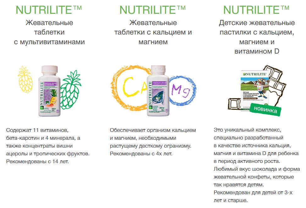 Amway витамины для детей смотрите