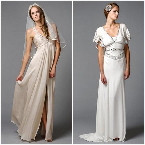 Фото греческих свадебных платьев