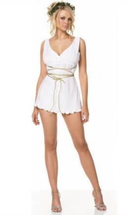 Короткие греческие платья фото