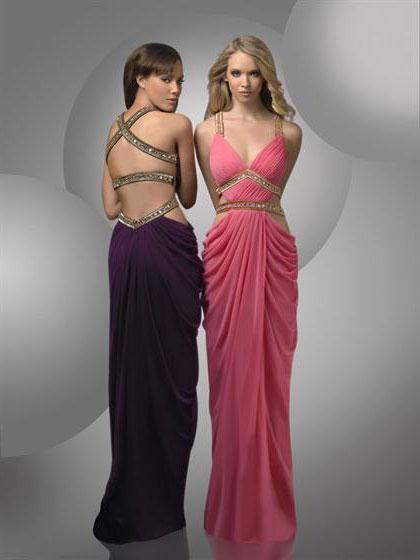 Греческие короткие платья.