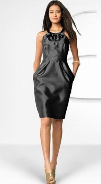 платье-баллон для худеньких девушек