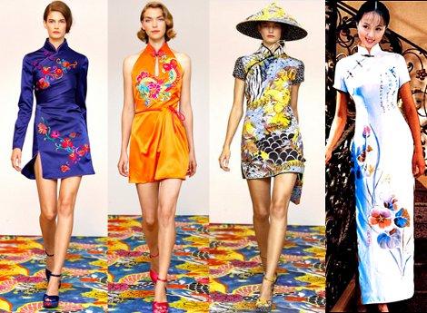 Ципао Китайская одежда, платья Кимоно | ВКонтакте